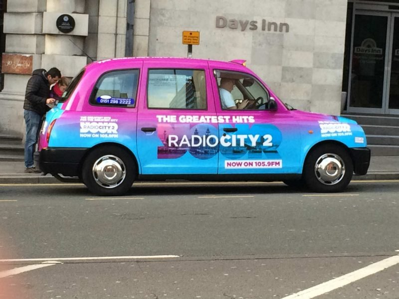 the eye-catching taxis in liverpool